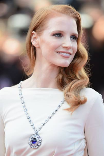 2013 - Jessica Chastain's Elizabeth Taylor moment at Cannes Film Festival