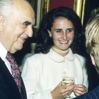 Lord Weidenfeld and Mrs Andrew Roberts