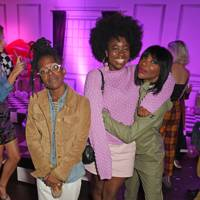 Ayishat Akanbi, Clara Amfo and Michaela Coel