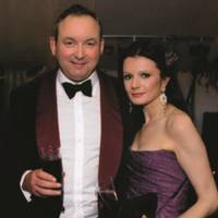 The Hon Charles Cayzer and Sarah Mancini