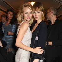 Rosie Huntington-Whiteley and Edie Campbell