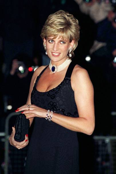 Diana's bust: a topic of sizable concern for the young Prince William