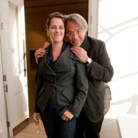 Tracey Emin and Sir David Tang, 2010