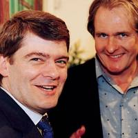 Nicholas Hely-Hutchinson and Robert Bathurst