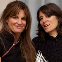 Jemima Khan and Bella Freud