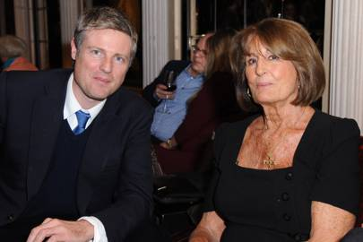 Zac Goldsmith and Lady Annabel Goldsmith
