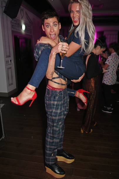 Kyle De'Volle and Louisa Johnson
