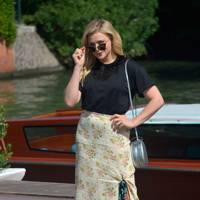 Chloe Grace Moretz arrives at the festival