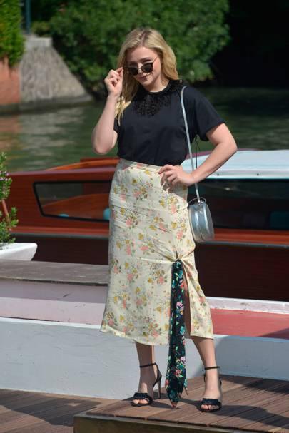 Chloe Grace Moretz arrives at the festival