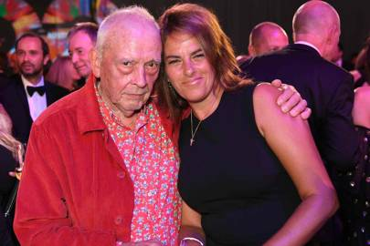 David Bailey and Tracey Emin