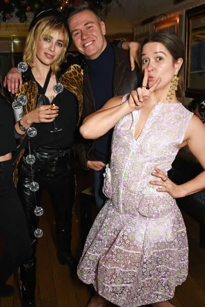Edie Campbell, Alasdair McLellan and Madeleine Ostlie