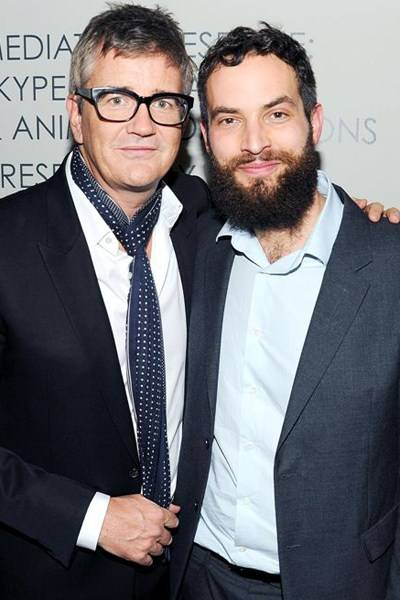 Jay Jopling and Sandro Kopp