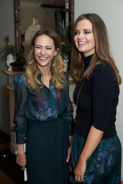 Lavinia Brennen and Lady Natasha Rufus Isaacs