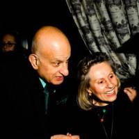 Naim Attallah and Maria Attallah