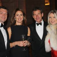 Hugh Morrison, Amanda Hall, Simon Hall and Amanda Wakeley