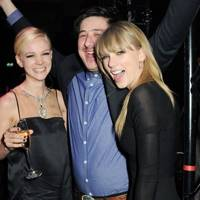 Carey Mulligan, Marcus Mumford and Taylor Swift