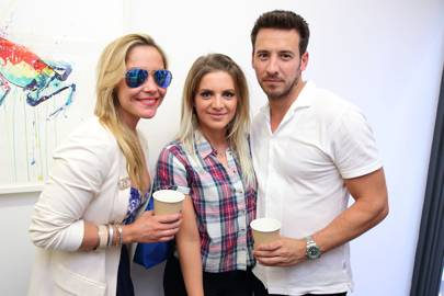Heidi Range, Juliette Loughran and Alex Partakis