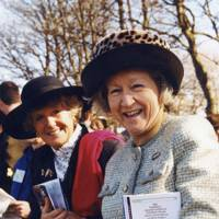 The Marchioness of Zetland and Lady Bengough