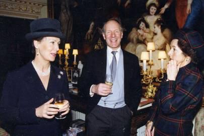 Mrs Charles Palmer-Tomkinson, Charles Palmer-Tomkinson and Lady Serena Kettlewell