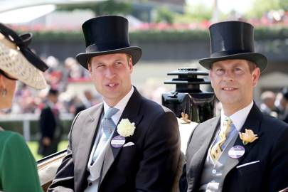 The Duke of Cambridge and the Earl of Wessex