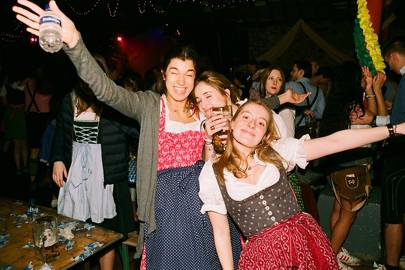 Carla Aguirre, Sofia Hirschbaek and Sofia Svensen