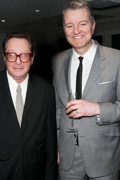 Lord Saatchi and Richard Thompson