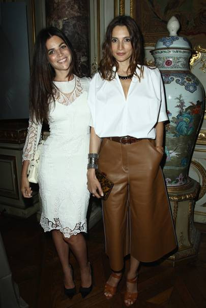 Julia Restoin Roitfeld and Astrid Muñoz