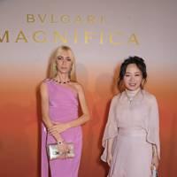 Sabine Getty and Joyce Weng