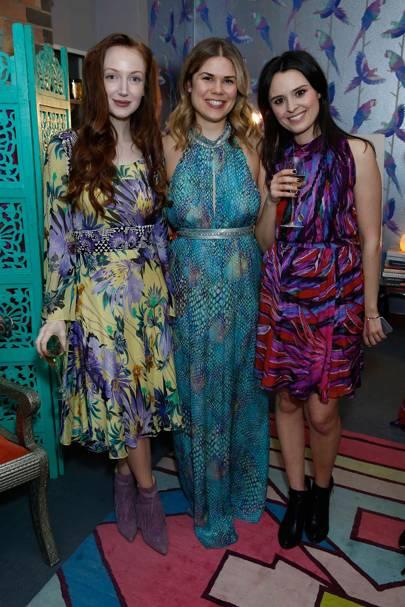 Olivia Grant, Madeleine Shaw and Venetia Falconer