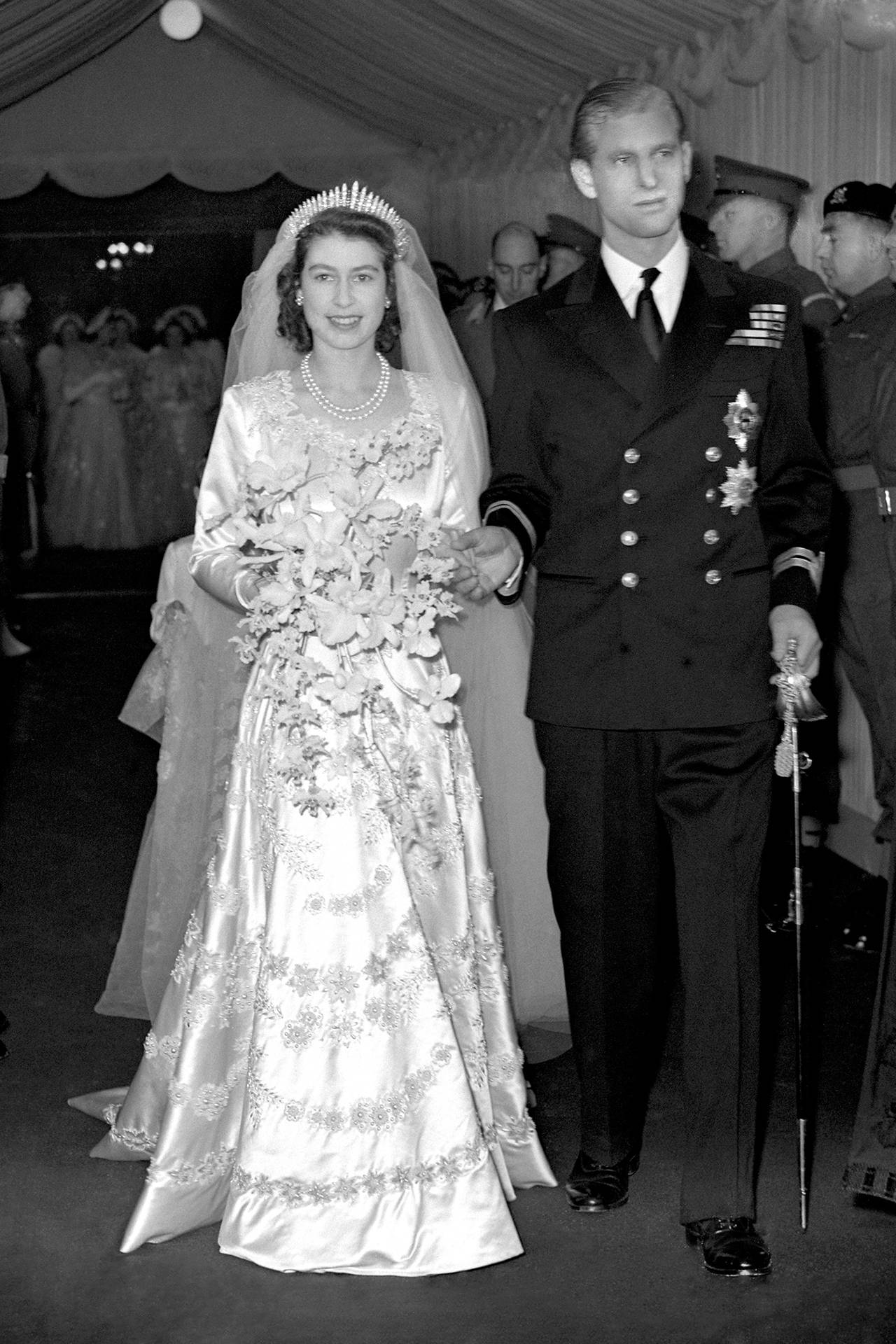 The Queen and Prince Philip\'s wedding: pictures & facts | Tatler