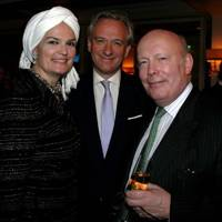 Lady Emma Fellowes, Jamie Cayzer-Colvin and Lord Fellowes