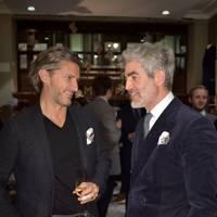 Arnaud Massenet and Juan Santa Cruz