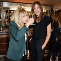 Jo Wood and Rosemary Ferguson