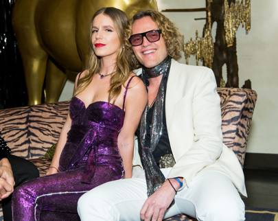 Eugenie Niarchos and Peter Dundas