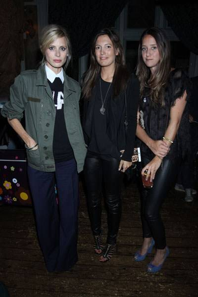 Laura Bailey, Amanda Ferry and India Langton