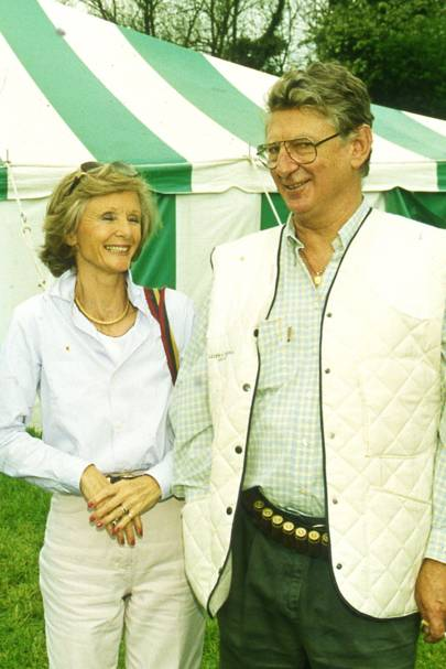 Mrs Michael Campbell and Lord Chesham