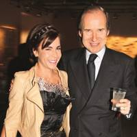 Jackie de Botton and Simon de Pury