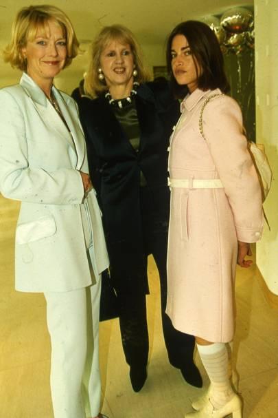 Jane Procter, Tessa Kennedy and Milica Kastner