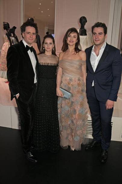Charles Guard, Felicity Jones, Olga Kurylenko and Ben Cura