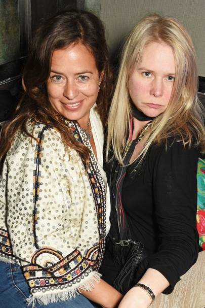 Jade Jagger and Lee Starkey