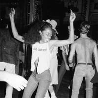 Diana Ross at Studio 54, circa 1980