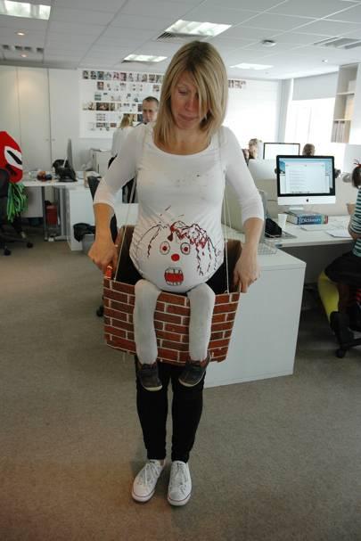 Hannah Brenchley as Humpty Dumpty