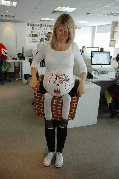Hannah Brenchley as Humpty Dumpty