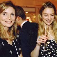 Eva Rice and Bee Kerr