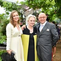 Zenouska Mowatt, Pamela Harper and Peter Harper