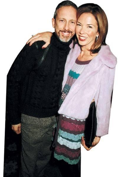 Patrick Cox and Mrs Sol Kerzner
