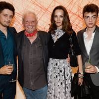 Sascha Bailey, David Bailey, Catherine Bailey and Fenton Bailey