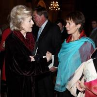 Princess Alexandra and Celia Imrie