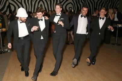 Mustafa Muslehuddin, Scott McKenna, Alfons Gudmudnsson, Robbie De Silva and Sean McLintock