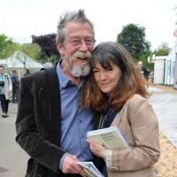 John Hurt and Anwen Rees Meyers